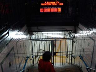 Trabajadores del subte harán un paro mañana por incidentes del hospital Borda