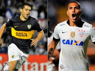 Boca enfrenta a Corinthians