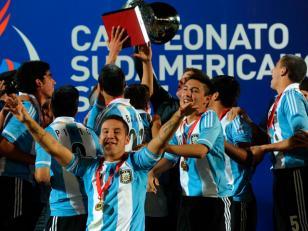 Argentina salió campeón del Sudamericano Sub-17 empatar con Venezuela