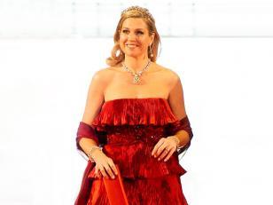 El vestido de Valentino de Máxima Zorreguieta