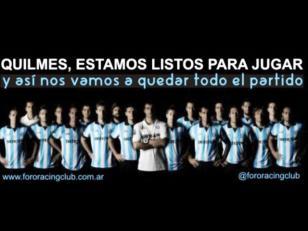 Circulan amenazas a los jugadores de Racing para que dejen ganar a Quilmes