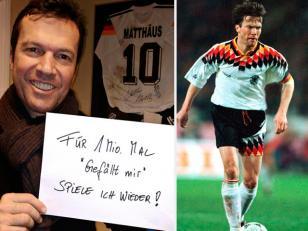 Lothar Matthäus dice que volvería a jugar al fútbol si consigue 1 millón de likes en Facebook
