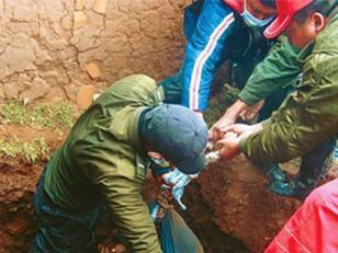 Campesinos enterraron vivo a un presunto violador en Bolivia