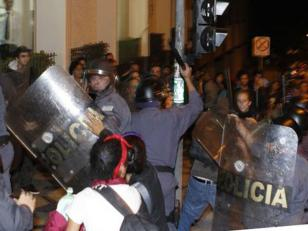 Multitudinarias protestas en Brasil.Hay mas de 200 detenidos