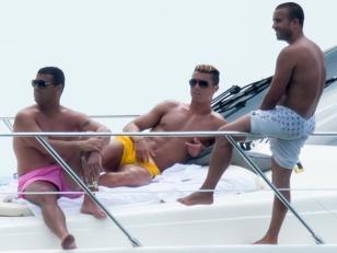 Las fotos de Cristiano Ronaldo con amigos