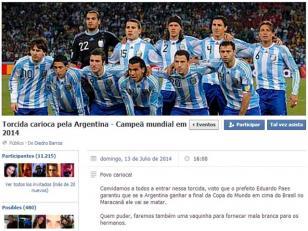 Brasileños desean que Argentina gane el Mundial para que se vaya el alcalde