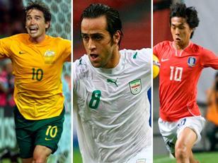 Australia, Irán y Corea del Sur, nuevos clasificados al Mundial 2014