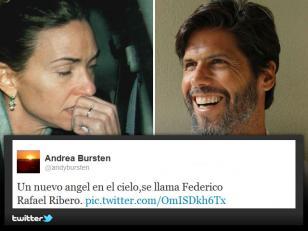 """Andrea Bursten: """"Un nuevo ángel en el cielo, se llama Federico Rafael Ribero"""""""