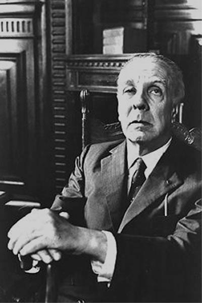 Monumento homenaje a Borges en La Biblioteca Nacional