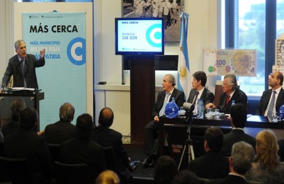 Plan Más Cerca: obras para municipios bonaerenses