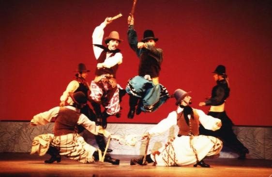 El Ballet Folklórico Nacional en Boulogne