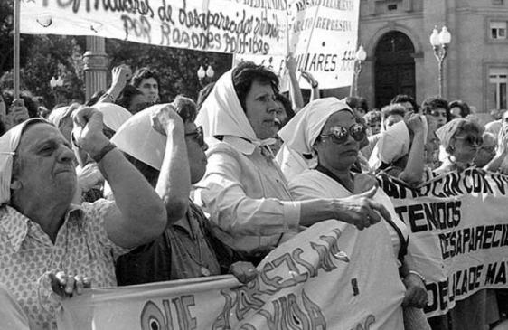 Homenaje a las Madres de Plaza de Mayo en su 36º aniversario