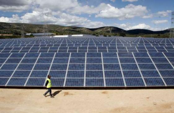 Construyen un parque fotovoltaico en San Luis
