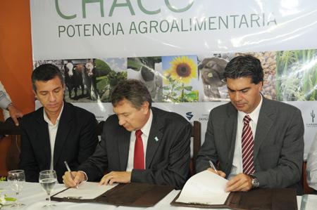 Yauhar firmó convenios por $ 47,5 millones para dinamizar sectores productivos chaqueños