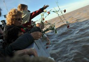 Acto por el aniversario del hundimiento del crucero General Belgrano