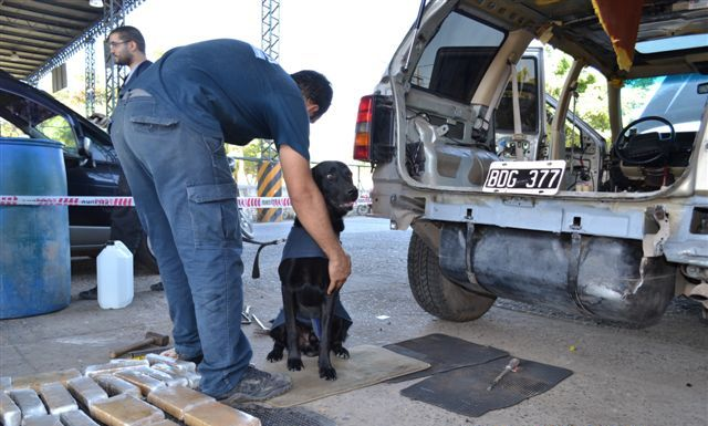 Operativos antidroga de AFIP en Formosa y Chaco