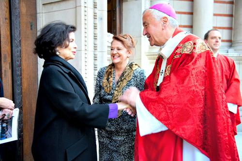 Misa de Acción de Gracias en la catedral de Westminster por la elección del Papa argentino y sus intenciones
