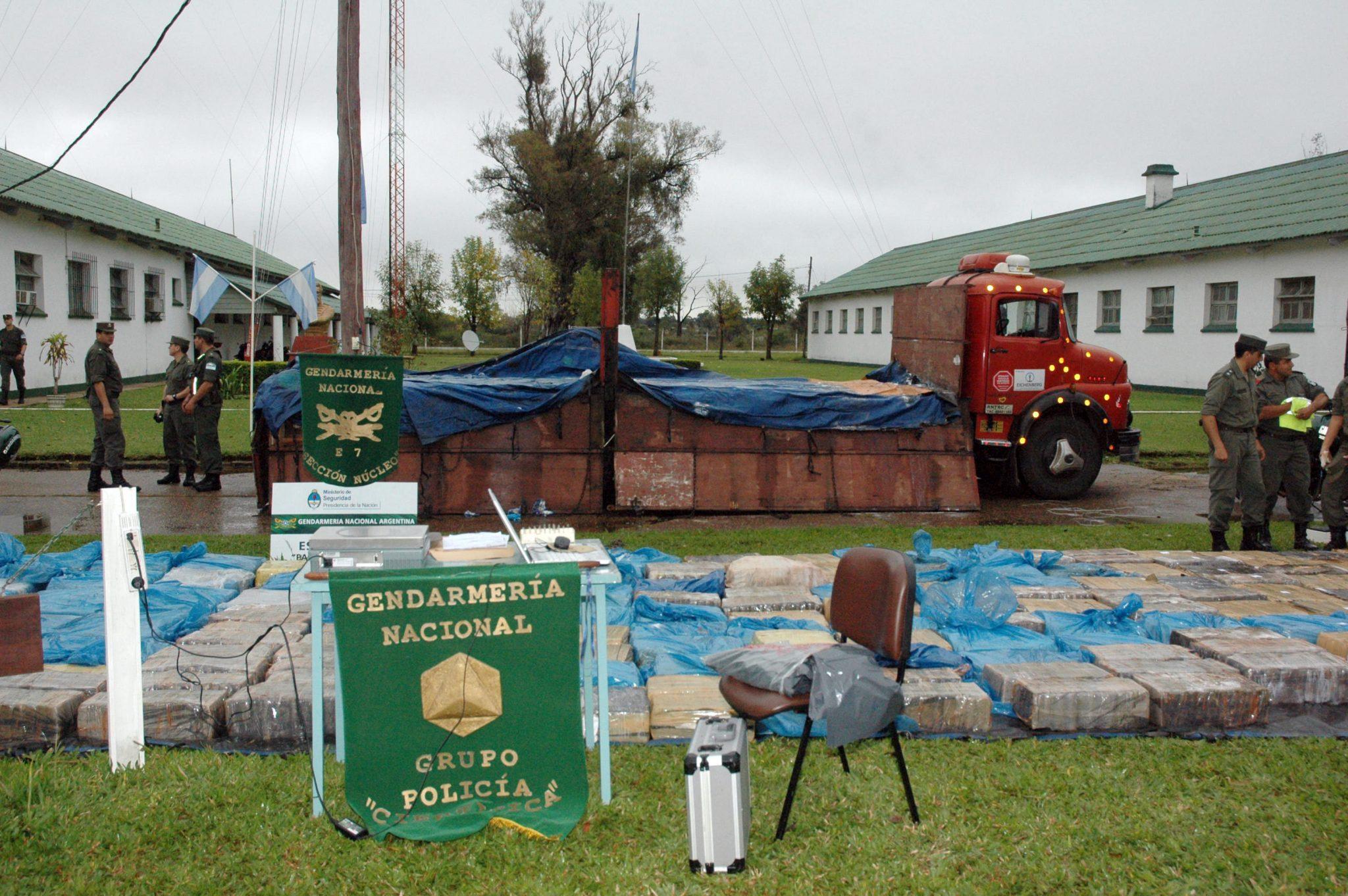 Secuestran 6 toneladas de marihuana en Corrientes