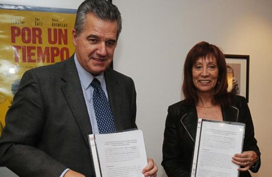 El Incaa y el INTI firmaron un convenio para la homologación de software en salas
