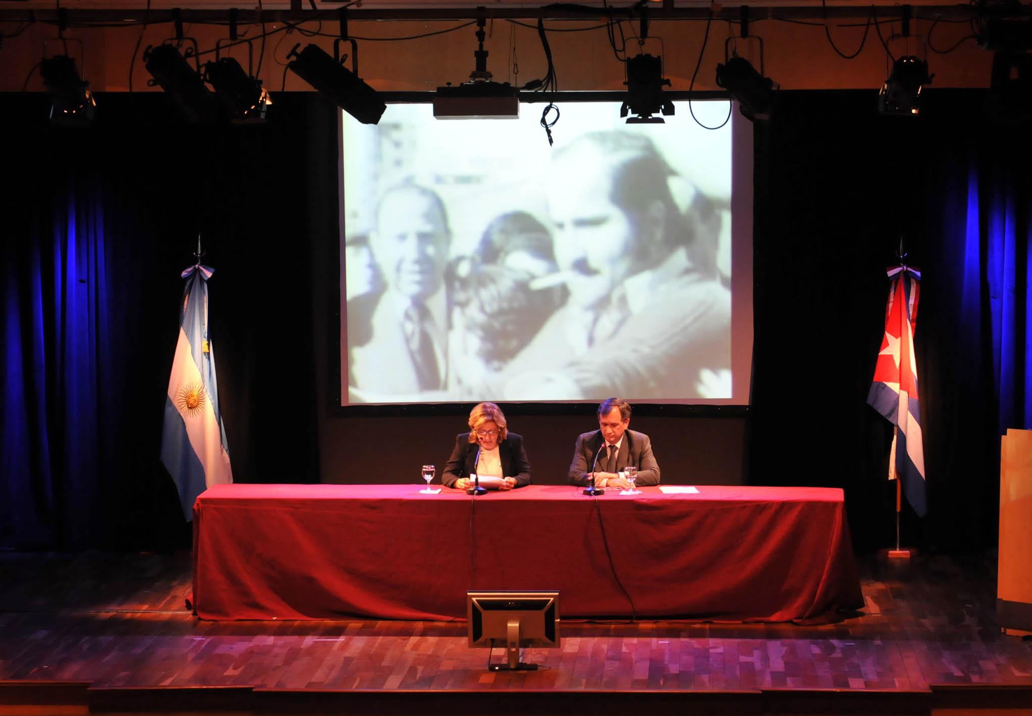 Cancillería conmemoró el 40 aniversario del restablecimiento de relaciones con Cuba