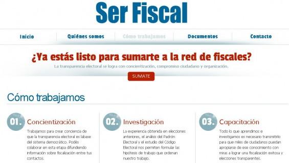 """Ya son 20.000 los fiscales """"transparentes"""""""