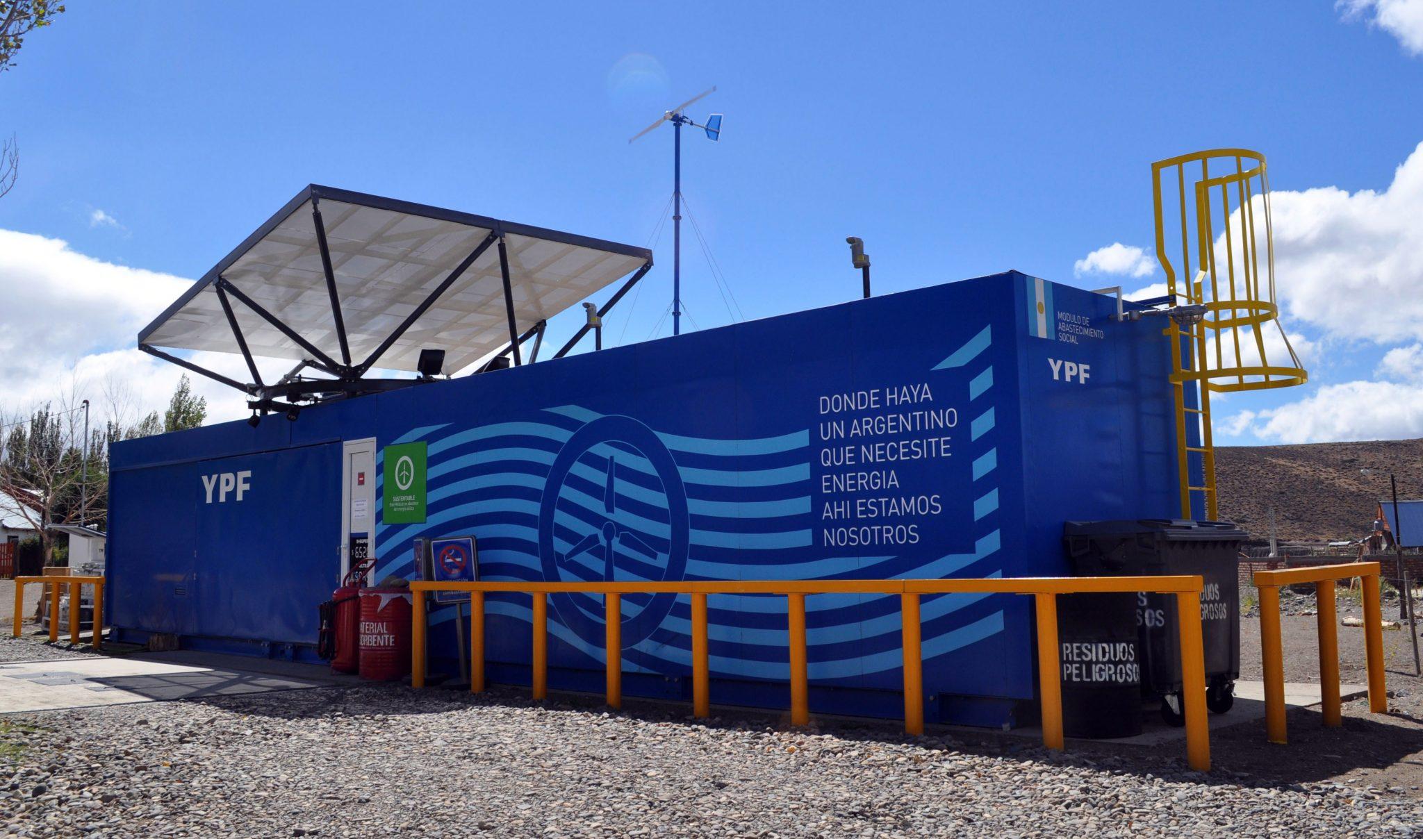 YPF habilitó en Neuquén un centro de abastecimiento