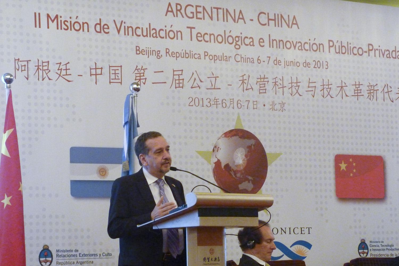 Barañao recibió en China el Honoris Causa por su aporte en cooperación científica