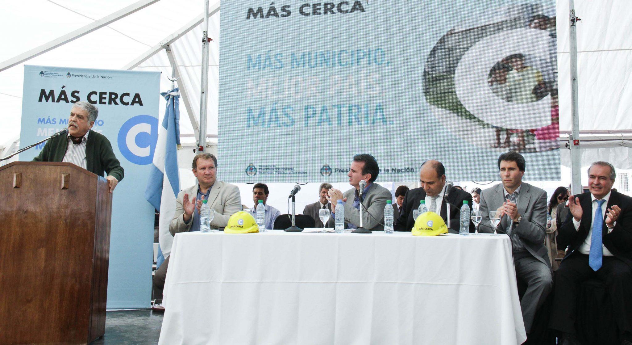 Se firmaron obras para Mendoza por $260 millones