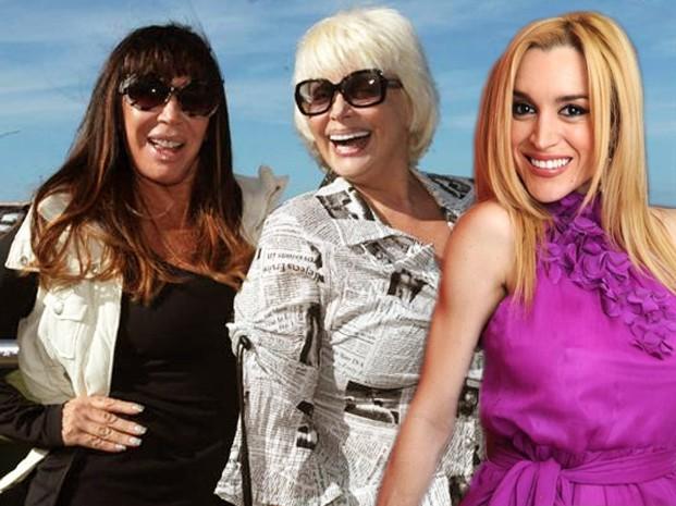 Moria Casan, Carmen Barbieri y Fatima Florez juntas en el verano?
