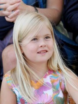 Catharina Amalia, la pequeña princesa argentina que será reina de Holanda
