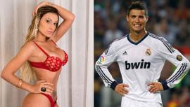 Miss Bumbun con Cristiano Ronaldo