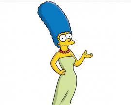 """Dolor en """"Los Simpson"""": murió la verdadera Marge"""