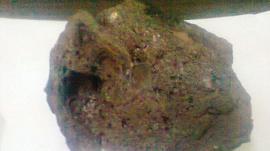 Máquina de arado quedó bloqueada por un meteorito en Santiago del Estero