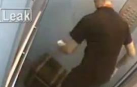 Video:Mirá lo que hace el delivery antes de entregar la pizza