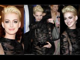 El cambio de look de Anne Hathaway
