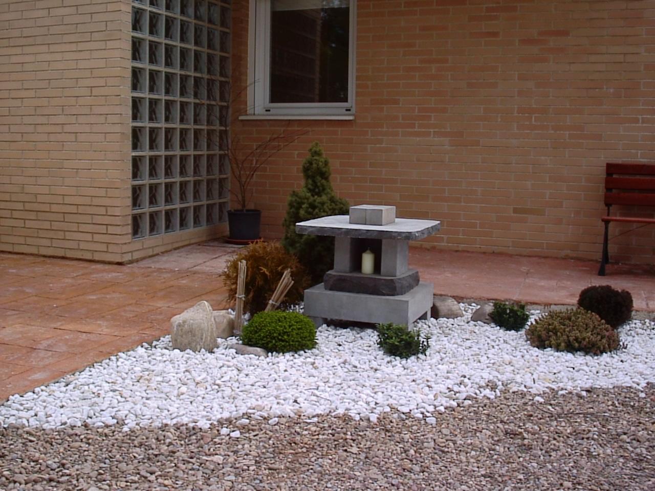Fotos de jardin zen for Jardines para casas pequenas fotos