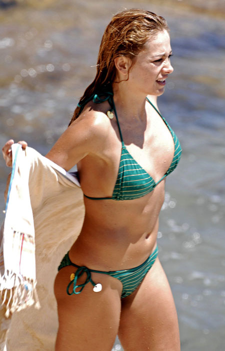 Confirm. paulina rubio bikini