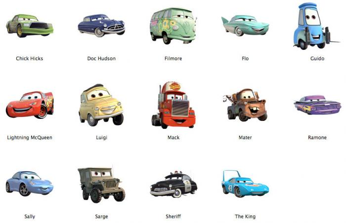 Fotos de cars for What was the name of that movie