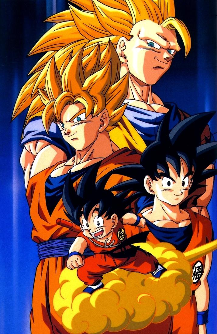 Imágenes de Goku Fase 4