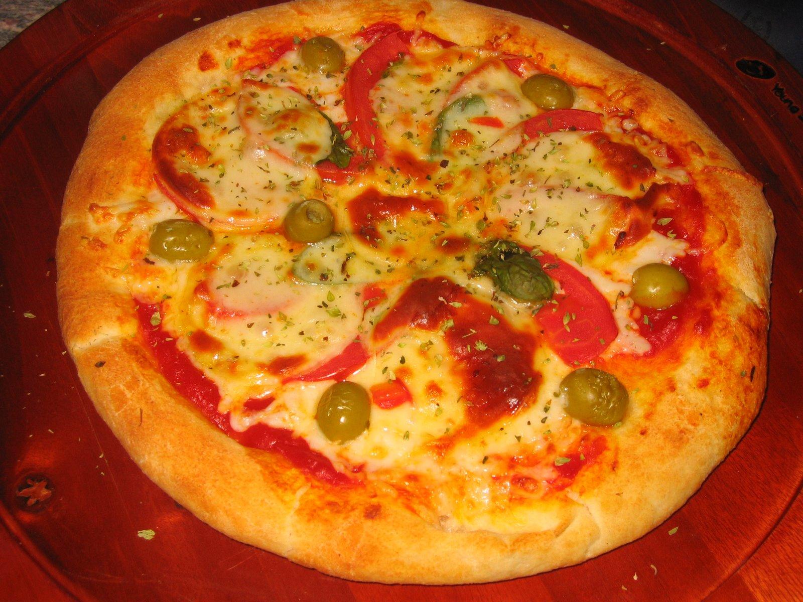 Fotos de pizzas for Ideas para comidas caseras