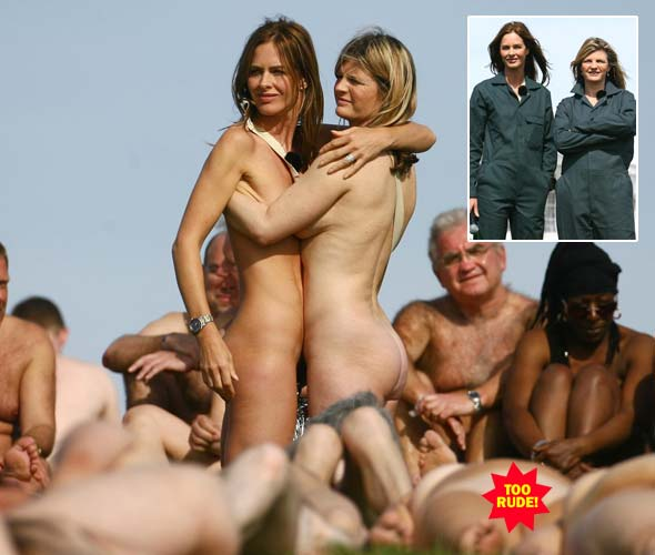 Trinny And Susannah Go Naked In Latest Show