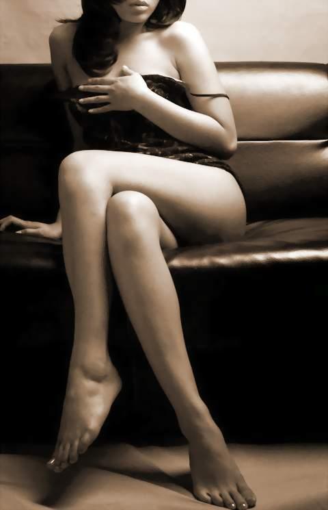 Mujer sexy pierna y zapato