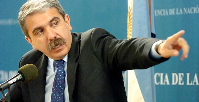 Aníbal Fernández ratificó la denuncia penal por corte eléctrico