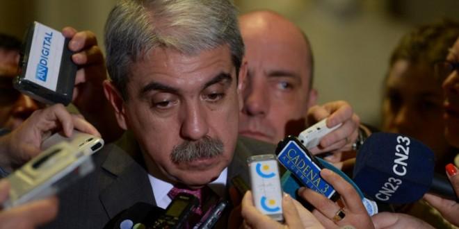 """Aníbal Fernández: """"Se dan las condiciones para la baja de la desocupación"""""""