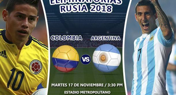 Argentina va por Colombia en Barranquilla