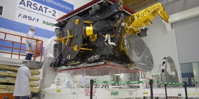 El Arsat-2 está listo para ser lanzado al espacio