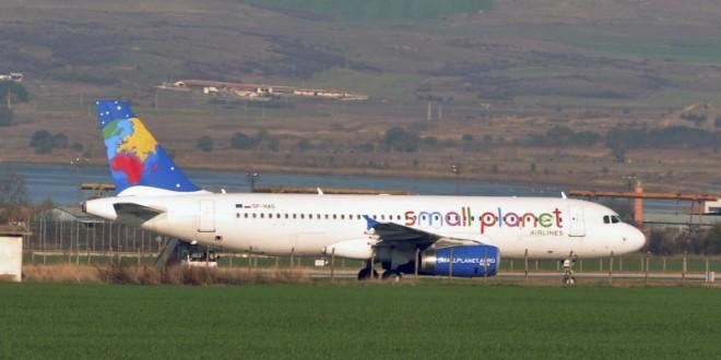 Avión aterrizó de emergencia en la ciudad de Burgas por amenaza de bomba