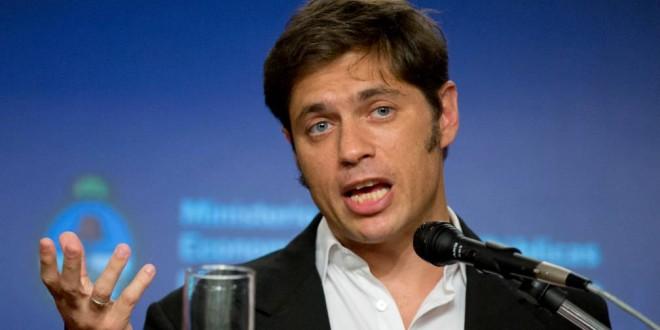 "Axel Kicillof: ""Como ministro, Martín Lousteau fue un fracaso"""