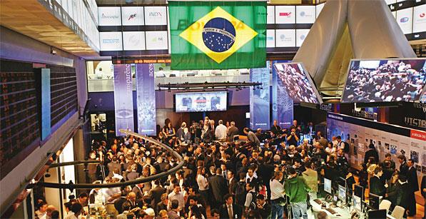 Por sondeo que da ventaja a Dilma Rousseff, el Bovespa se desploma 2,2%