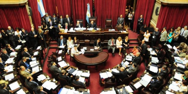 El Senado trata la reforma del Código Procesal Penal